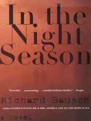 Cover of: In the Night Season | Richard Bausch