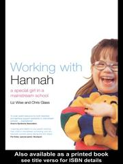 Cover of: Working With Hannah | Liz Wise
