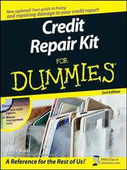 Cover of: Credit Repair Kit For Dummies® | Steve Bucci