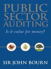 Cover of: Public Sector Auditing | Sir John Bourn