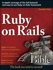 Cover of: Ruby on Rails® Bible | Timothy Fisher