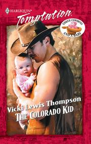 Cover of: The Colorado Kid | Vicki Lewis Thompson