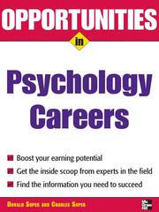 Cover of: Opportunities in Psychology Careers | Blythe Camenson