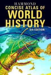 Cover of: Hammond Concise Atlas of World History (Hammond Concise Atlas of World History, 5th ed)