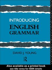Cover of: Introducing English Grammar | David J. Young