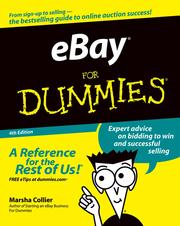 Cover of: eBay For Dummies | Marsha Collier