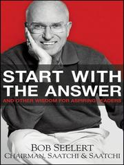 Cover of: Start with the answer | Bob Seelert