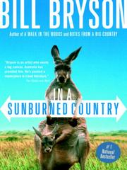 Cover of: In a Sunburned Country | Bill Bryson
