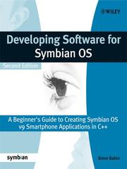 Cover of: Developing Software for Symbian OS | Steve Babin