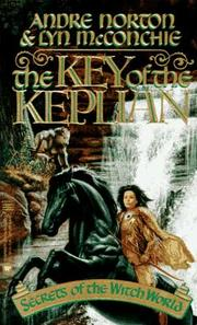 Cover of: The Key of the Keplian | Andre Norton