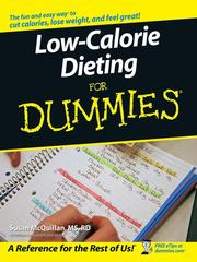 Cover of: Low-Calorie Dieting For Dummies | Susan McQuillan
