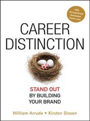 Cover of: Career Distinction | William Arruda