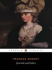 Cover of: Journals and Letters | Fanny Burney