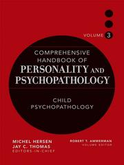 Cover of: Comprehensive Handbook of Personality and Psychopathology , Child Psychopathology, Volume 3 | Robert T. Ammerman