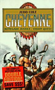 Cover of: Renegade Justice/Vision Quest | Judd Cole