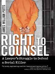 Cover of: Right to Counsel | James William Potts