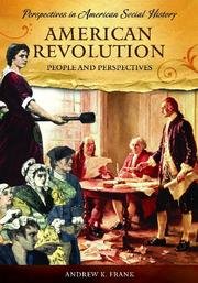 Cover of: American Revolution | Andrew Frank