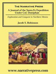 Journal of the Santa Fe Expedition Under Colonel Doniphan