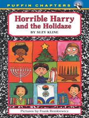 Cover of: Horrible Harry and the Holidaze | Suzy Kline
