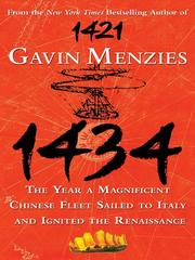 Cover of: 1434 | Gavin Menzies