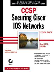 Cover of: CCSP: Securing Cisco IOS Networks Study Guide | Todd Lammle