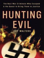 Cover of: Hunting Evil | Guy Walters