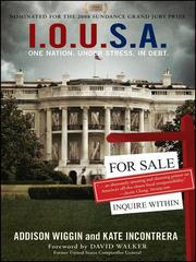 Cover of: I.O.U.S.A | Addison Wiggin