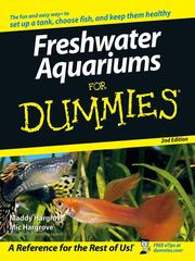 Cover of: Freshwater Aquariums For Dummies | Maddy Hargrove