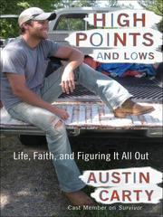 Cover of: High points and lows | Austin Carty