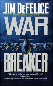 Cover of: War Breaker | Jim Defelice