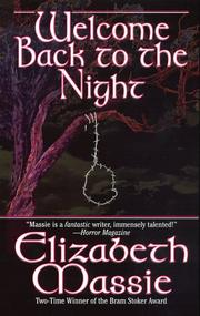 Cover of: Welcome back to the night