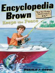 Cover of: Encyclopedia Brown Keeps the Peace | Donald J. Sobol