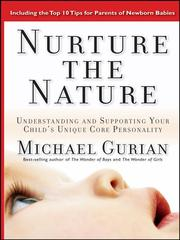 Cover of: Nurture the Nature | Michael Gurian