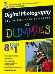 Cover of: Digital Photography All-in-One Desk Reference For Dummies | David D. Busch