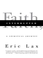 Cover of: Faith, Interrupted | Eric Lax