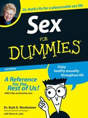 Cover of: Sex For Dummies | Ruth K. Westheimer