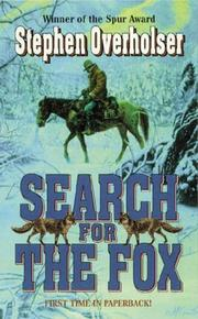Cover of: Search for the Fox