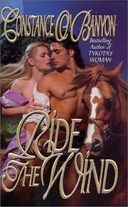 Cover of: Ride the wind | Constance O'Banyon