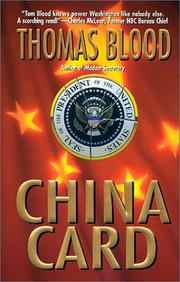 Cover of: China card | Thomas Blood