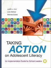 Cover of: Taking action on adolescent literacy | Judith L. Irvin