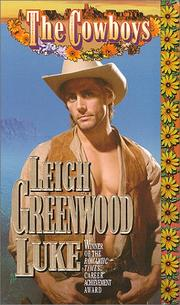 Cover of: The Cowboys: Luke
