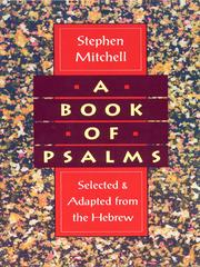 Cover of: A Book of Psalms | Stephen Mitchell