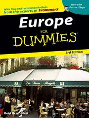 Europe for dummies by Reid Bramblett