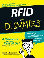 Cover of: RFID for dummies | Patrick J Sweeney