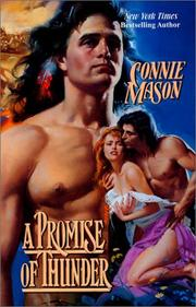 Cover of: A Promise of Thunder (Women West) | Connie Mason