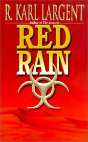 Cover of: Red rain
