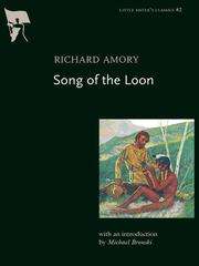Richard Amory's Song of the loon by Richard Amory