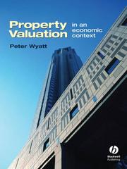 Property evaluation in an economic context by Peter Wyatt