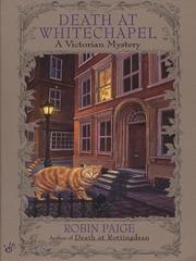 Cover of: Death at Whitechapel | Robin Paige