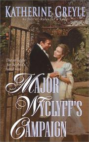 Cover of: Major Wyclyff